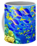 Deep Sea Fish And Diver Coffee Mug
