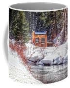 Deep Snow In Spearfish Canyon Coffee Mug