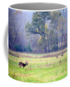 Deer At Cades Cove Coffee Mug