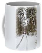 Deer Crossing Coffee Mug