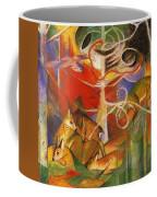 Deer In The Forest 1913 Coffee Mug