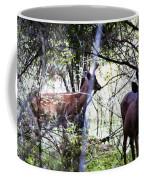 Deer Looking For Food Coffee Mug