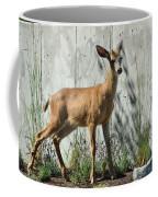 Deer On A Walkabout Coffee Mug