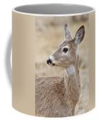 White Tail Deer Profile Coffee Mug