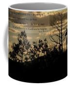 Deer Silhouette Coffee Mug