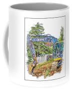 Deere For Hire2 - Excavator - Digger Coffee Mug