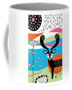Deery Me Coffee Mug by Susan Claire