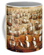 Defeat Of The Spanish Armada 1588 Coffee Mug