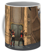 Defending Their Outpost Coffee Mug