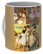 Degas Collage Coffee Mug by Philip Ralley
