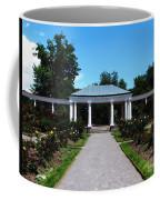 Delaware Park Rose Garden And Pergola Buffalo Ny Oil Painting Effect Coffee Mug