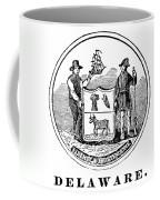 Delaware State Seal Coffee Mug