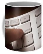 Delete Key Coffee Mug