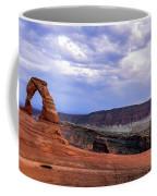 Delicate Arch Located In Arches Coffee Mug