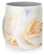 Delicate Beige Roses Coffee Mug