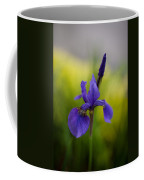 Delicate Japanese Iris Coffee Mug
