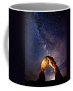 Delicate Light Coffee Mug by Darren  White