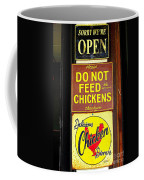 Delicious Chicken Dinners Sign Coffee Mug
