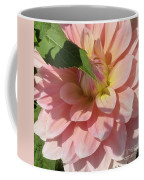 Delightful Smile Dahlia Flower Coffee Mug