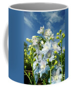 Delphinium Sky Original Coffee Mug