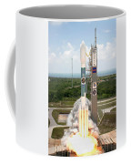 Delta II Launch With Space Telescope Coffee Mug