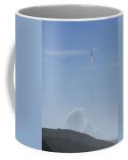 Delta Iv-heavy Taking Off Coffee Mug