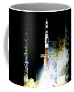 Delta Iv Rocket Coffee Mug
