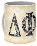 Delta Phi - Parchment Coffee Mug