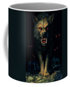 Demon Wolf Coffee Mug