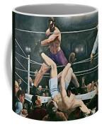 Dempsey V Firpo In New York City Coffee Mug