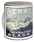 Denali Postage Stamp  Coffee Mug