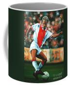 Dennis Bergkamp 2 Coffee Mug by Paul Meijering