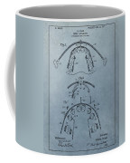 Dental Braces Patent Design Coffee Mug