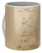 Dental Pliers Patent Design Coffee Mug