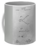 Dental Pliers Patent Drawing Coffee Mug