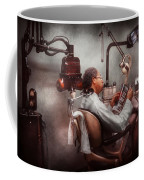 Dentist - Waiting For The Dentist Coffee Mug by Mike Savad