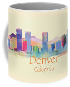 Denver Colorado Skyline II Coffee Mug