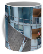 Denver Diagonal Lines Coffee Mug