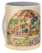 Denver Nuggets Poster Retro Coffee Mug