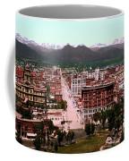 Denver Panorama 1897 Coffee Mug