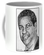 Denzel Washington In 2009 Coffee Mug by J McCombie