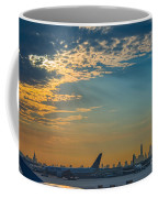 Departing From Ewr  Coffee Mug