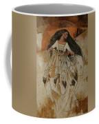 Departure Of White Buffalo Woman Coffee Mug by Pamela Mccabe