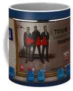 Depech Mode Tour Coffee Mug