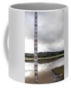 Depth Measuring Stick Lake Lagunita Stanford University Coffee Mug
