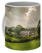 Derbyshire Cottages Coffee Mug by Amanda Elwell