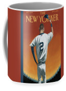 Derek Jeter Bows Coffee Mug