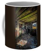 Derelict Cottage Coffee Mug by Adrian Evans