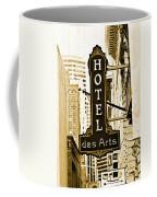 Art Hotel Coffee Mug