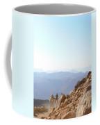 Descending From Sinai Coffee Mug